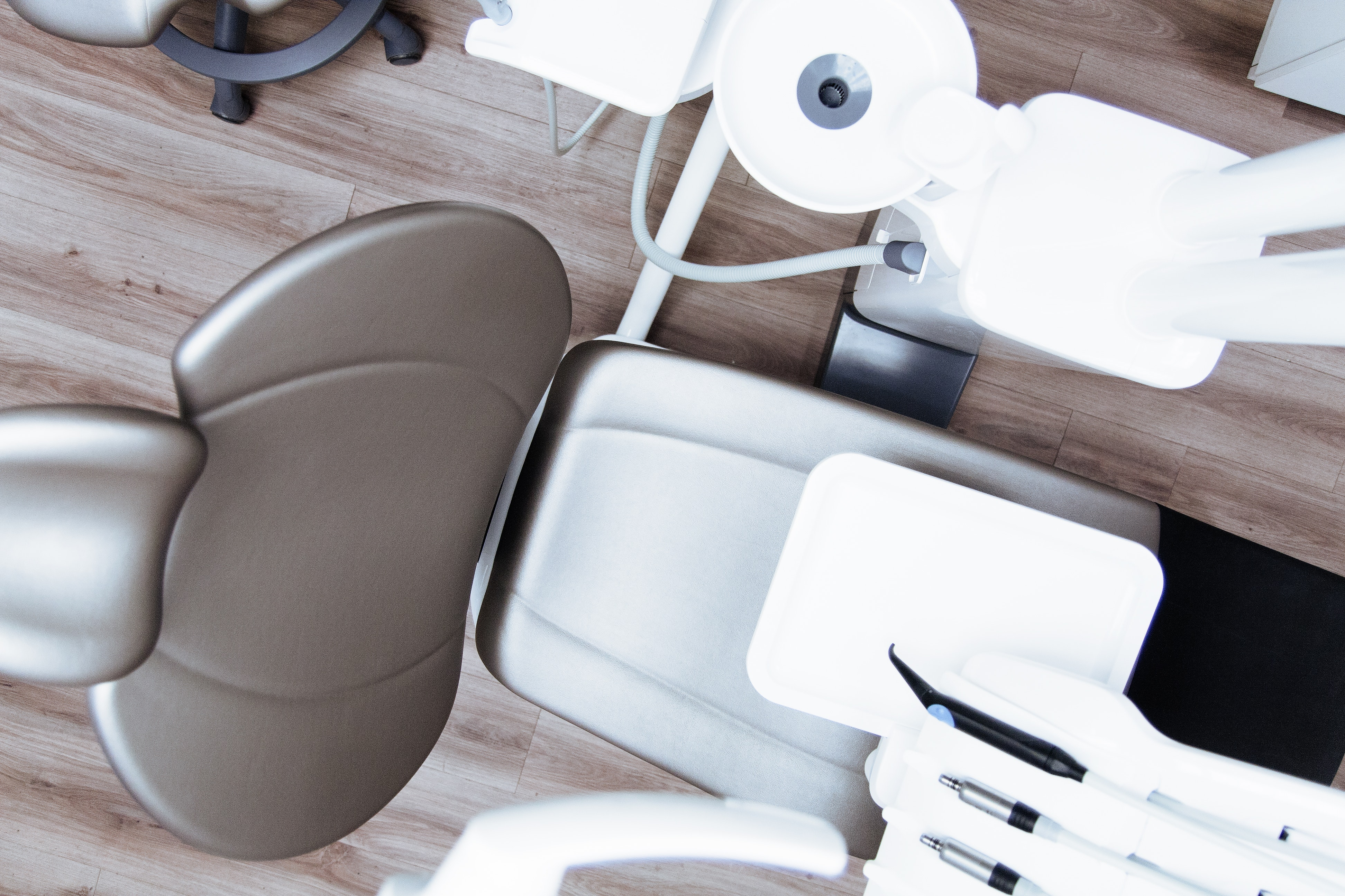 The treatment area within a cosmetic dentistry Glasgow clinic.